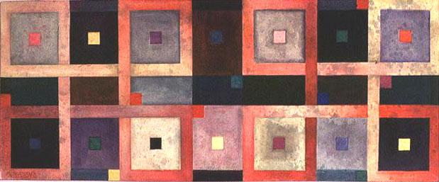 Floorcloth sketch lattice for 13 floor theme